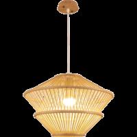 Bamboe Hanglamp D46xH31cm Oceana Handgemaakt