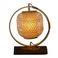 Bamboe Webbing Lamp Nara D45xH45cm Handcrafted