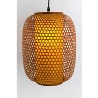 Japanse Hanglamp Bamboe - Shinjuku D26xH36cm