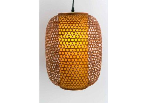 Fine Asianliving Lámpara de Techo Japonés de Bambú - Shinjuku - D.26 x Alt.36 cm