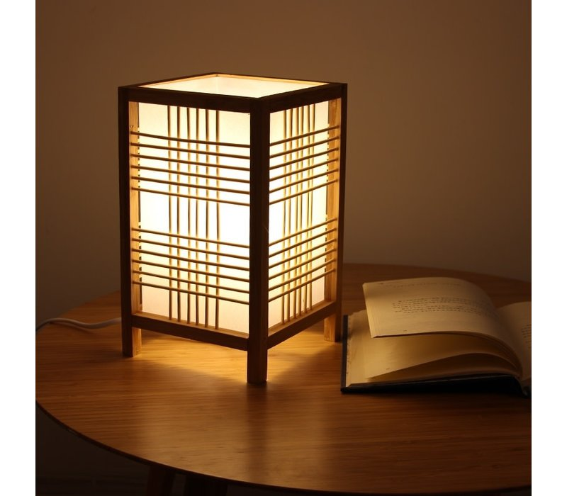 Japanese Lamp W15xD15xH25cm Hokkaido Natural