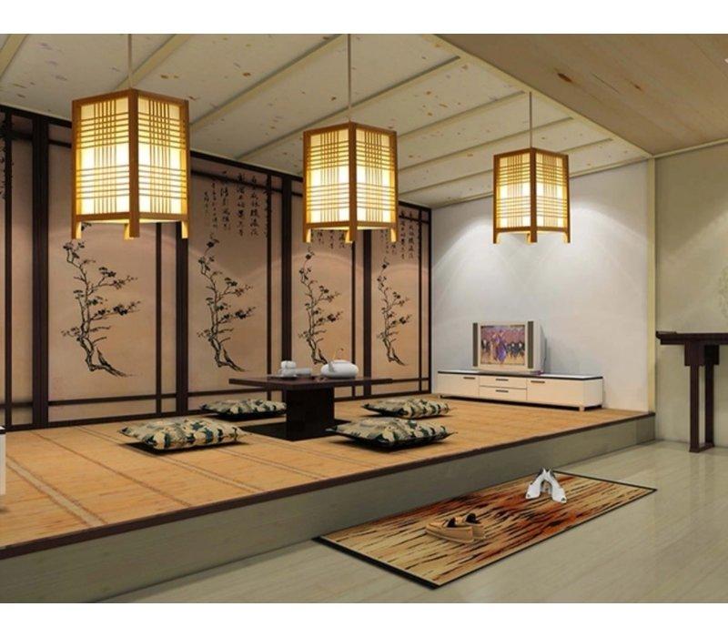 Japanse Hanglamp Shoji Natural - Isumi B15xD15xH25cm