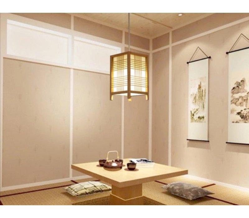 Japanese Lamp Natural - Isumi W15xD15xH25cm