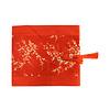 Fine Asianliving Chinesischer Tischläufer Blüten Rot 33x190cm
