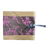 Fine Asianliving Chinese Table Runner 33x190cm Blossoms Grey Pink