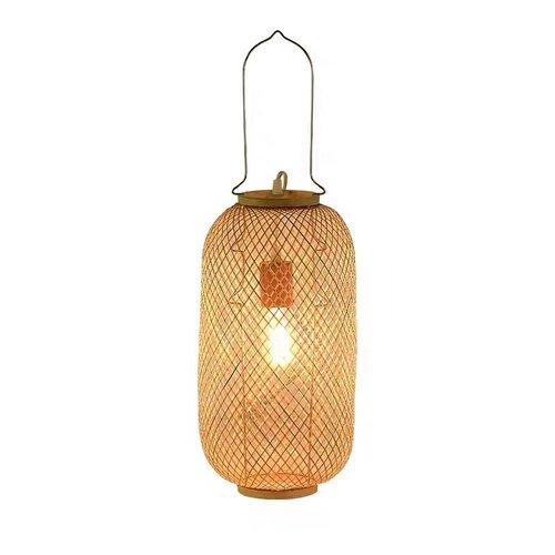 Fine Asianliving Bamboo Webbing Lamp Carmen Handmade D17xH60cm