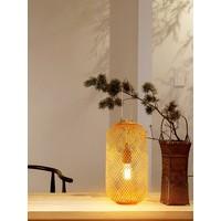 Lampada da Tavolo in Bambù Fatta a Mano - Carmen D17xA60cm