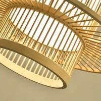 Plafonnier Luminaire Suspendu Bambou Abat-Jour Fait Main - Leona