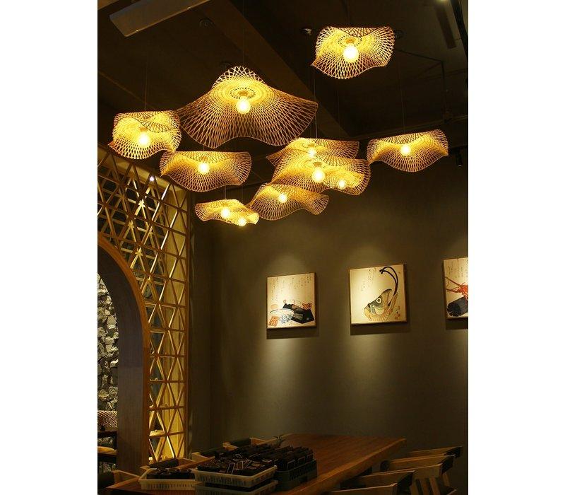 Bamboo Webbing Lamp D65cm Louise Handmade