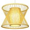 Fine Asianliving Bamboo Light Pendant Lampshade Handmade - Naomi