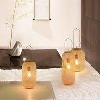 Bamboo Webbing Lamp Carmen Handmade D17xH60cm