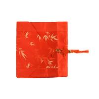 Chinesischer Tischläufer Bambus Rot 33x190cm