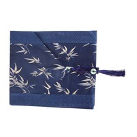 Chinese Table Runner 33x190cm Bamboo Blue