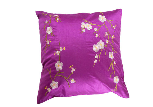 Fine Asianliving Chinese Cushion Cover 40x40cm Sakura Pink without Filling