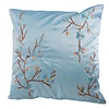 Fine Asianliving Chinese Cushion Cover 40x40cm Sakura Blue without Filling