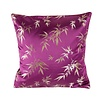 Fine Asianliving Chinese Cushion Bamboo Purple 45x45cm
