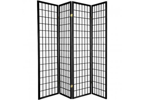Fine Asianliving Japanese Room Divider L180xH180cm Privacy Screen Shoji Rice-paper - TANA/B4