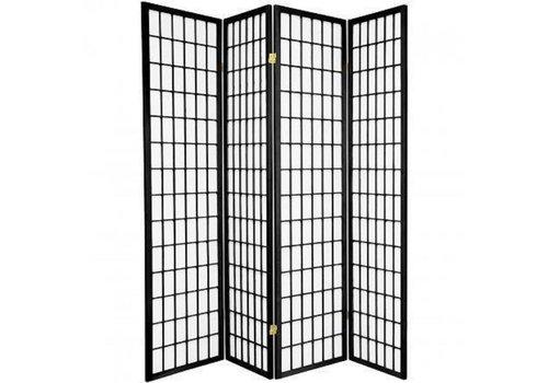 Fine Asianliving Japanese Room Divider W180xH180cm Privacy Screen Shoji Rice-paper - TANA/B4