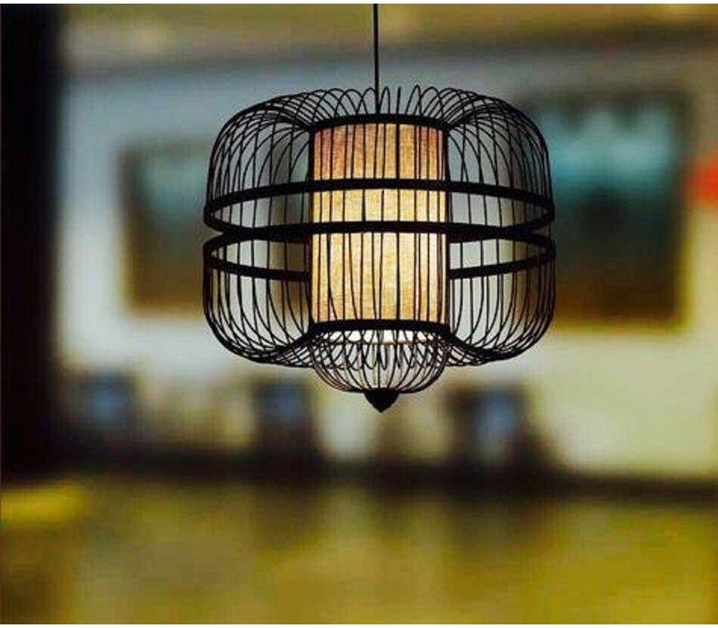 Lámpara de Techo Colgante de Bambú Hecha a Mano - Laurent