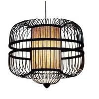 Bamboe Hanglamp Handgemaakt Zwart - Laurent