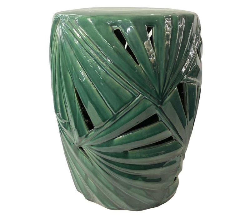 Tabouret Chinois en Porcelaine Céramique