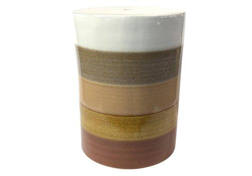 Fine Asianliving Taburete Ceramica Chino