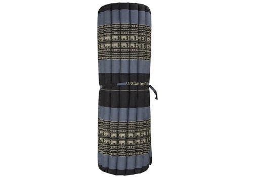 Fine Asianliving Thai Mat Rollable Mattress 200x100x4.5cm Black