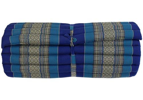 Fine Asianliving Thaise Mat Oprolbaar Matras 190x78x4.5cm Oceaan Blauw