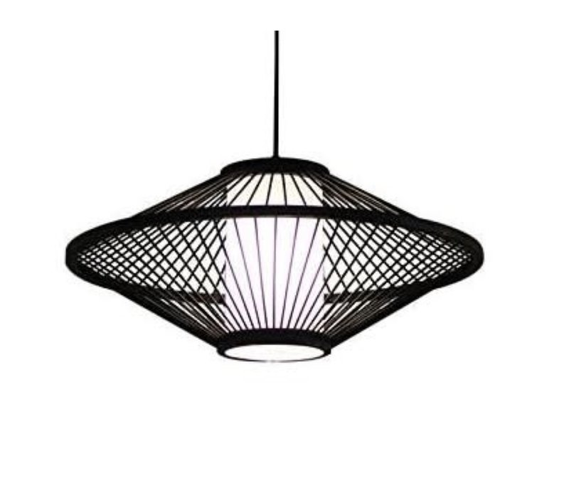 Ceiling Light Pendant Lighting Bamboo Lampshade Handmade - Damian