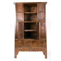 Large Classic Chinese Cabinet with Drawers