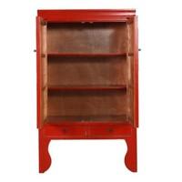 Armario de Boda Chino Rojo Afortunado Anch.100 x Prof.55 x Alt.190 cm