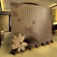 Paravent sur Toile 6 panneaux Fleur L240xH180cm