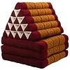 Fine Asianliving Thais Kussen Meditatie Driehoek Vloer Ligmat Yoga Uitklapbaar Kapok XL