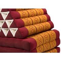 Thais Kussen Meditatie Driehoek Vloer Ligmat Yoga Uitklapbaar Kapok XL