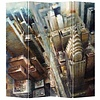 Fine Asianliving Raumteiler Trennwand B160xH180cm 4-teilig New York