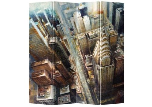 Fine Asianliving Paravent Raumteiler B160xH180cm 4-teilig New York