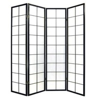Japanese Room Divider L180xH180cm Privacy Screen Shoji Rice-paper 180/B4