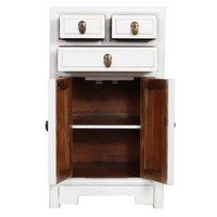 Chinese Bedside Table White W44xD42xH77cm