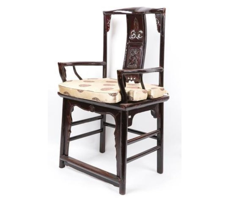 Silla China de Madera Set de 2 Negra