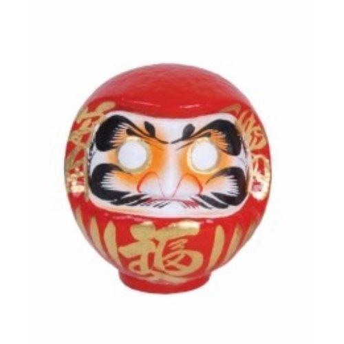 Fine Asianliving Japanse Daruma Rood Handgemaakt 25cm