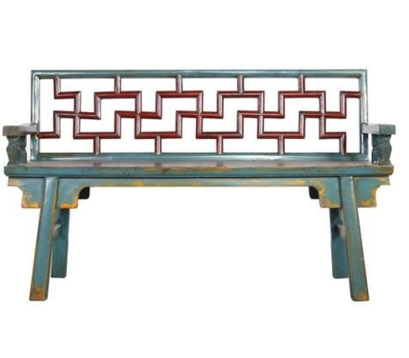 Chinese Bench Multicolour