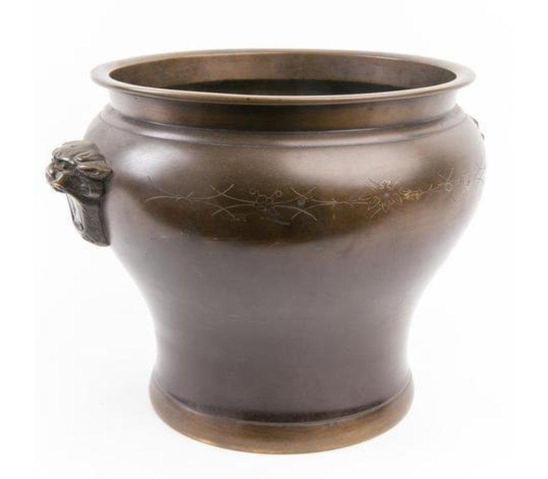 Antique Japanese Incensepot Made of Bronze