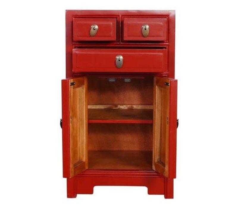 Gabinetto Cinese Rosso L44xP42xA77cm
