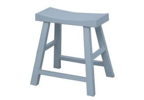 Fine Asianliving Chinese Stool White