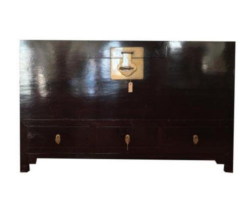 Malle Coffre de Rangement Chinois Antique L153xP58xH93cm