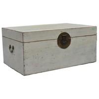 Antique Chinese Storage Box White - Beijing, China