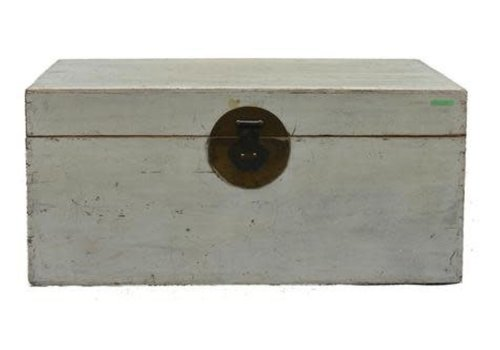 Fine Asianliving Antique Chinese Storage Box White - Beijing, China