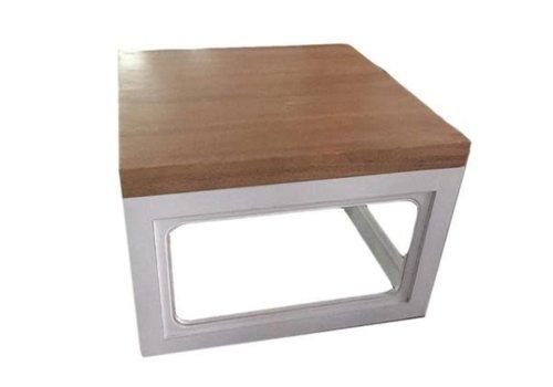 Fine Asianliving Table Basse Contemporaine Chinoise en Bois L65xP65xH45cm