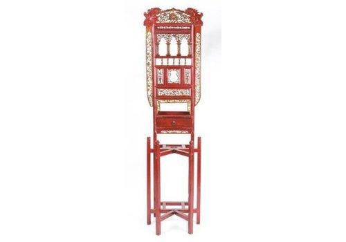Fine Asianliving Antieke Chinese Rode Wastafel