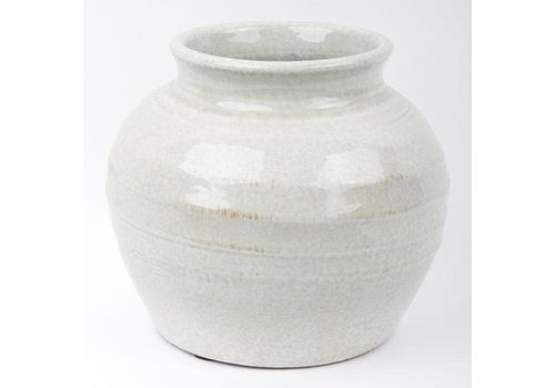 Fine Asianliving Chinese Pot Stone Grey
